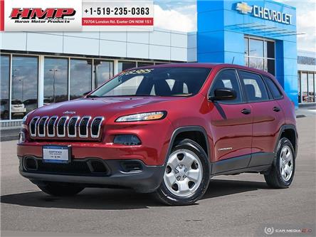 2016 Jeep Cherokee Sport (Stk: 90431) in Exeter - Image 1 of 27