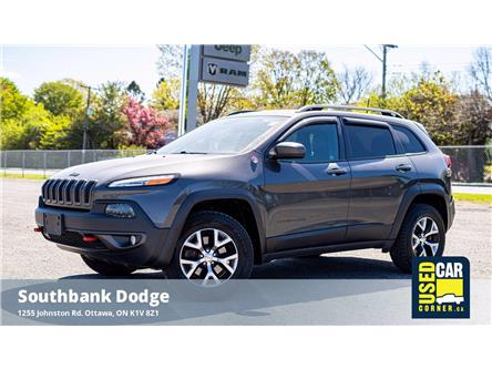2016 Jeep Cherokee Trailhawk (Stk: 2006681) in OTTAWA - Image 1 of 25