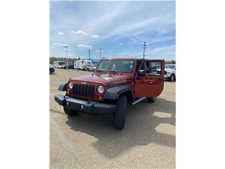 2014 Jeep Wrangler Unlimited Rubicon (Stk: MP072) in Rocky Mountain House - Image 1 of 30