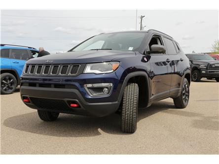 2021 Jeep Compass Trailhawk (Stk: MT016) in Rocky Mountain House - Image 1 of 30