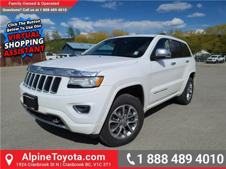 2015 Jeep Grand Cherokee Overland (Stk: W194592A) in Cranbrook - Image 1 of 27