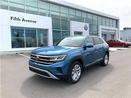 2020 Volkswagen Atlas Cross Sport 3.6 FSI Execline (Stk: 20195) in Calgary - Image 1 of 19
