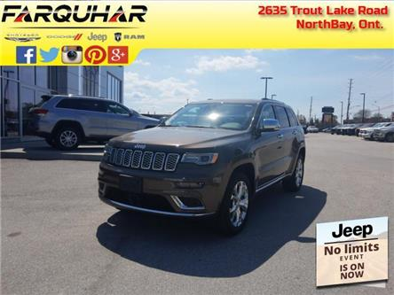 2021 Jeep Grand Cherokee Summit (Stk: 21009) in North Bay - Image 1 of 29
