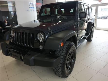 2017 Jeep Wrangler Unlimited Sport (Stk: M0366A) in Québec - Image 1 of 30