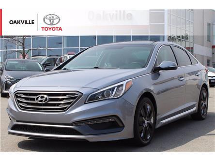 2016 Hyundai Sonata Sport Tech (Stk: 21506A) in Oakville - Image 1 of 17