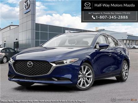 2021 Mazda Mazda3 GT w/Turbo (Stk: 4577) in Thunder Bay - Image 1 of 22