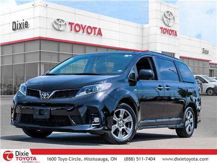 2020 Toyota Sienna SE 7-Passenger (Stk: D210837A) in Mississauga - Image 1 of 27