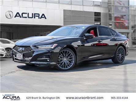 2021 Acura TLX A-Spec (Stk: 21132) in Burlington - Image 1 of 28