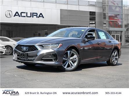 2021 Acura TLX Platinum Elite (Stk: 21172) in Burlington - Image 1 of 29