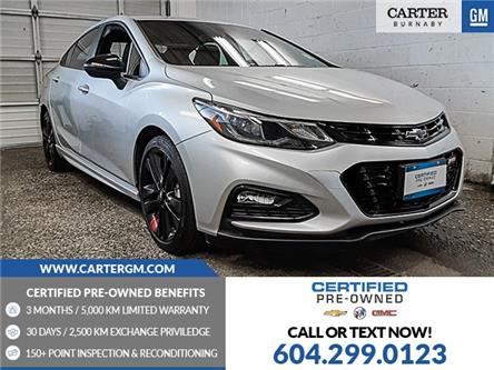 2018 Chevrolet Cruze LT Auto (Stk: M1-15821) in Burnaby - Image 1 of 22