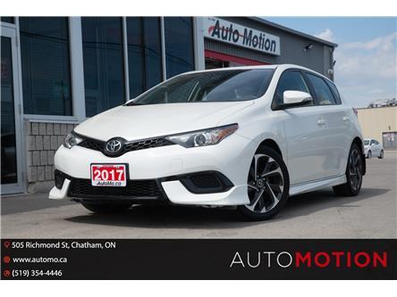 2017 Toyota Corolla iM Base (Stk: 21706) in Chatham - Image 1 of 21