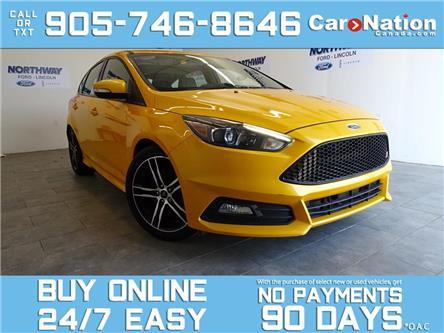2016 Ford Focus ST | TECH PKG | LEATHER | NAV | SUNROOF | RARE! (Stk: P6980) in Brantford - Image 1 of 26