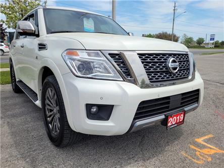 2019 Nissan Armada Platinum (Stk: CK9756469L) in Cobourg - Image 1 of 17