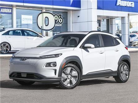 2021 Hyundai Kona EV  (Stk: 22461) in Aurora - Image 1 of 11