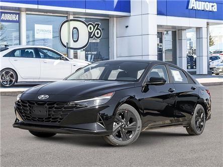 2021 Hyundai Elantra HEV Preferred (Stk: 22563) in Aurora - Image 1 of 23