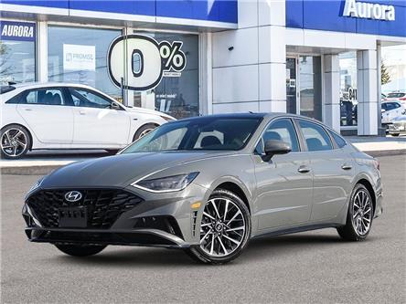 2021 Hyundai Sonata Ultimate (Stk: 22568) in Aurora - Image 1 of 6