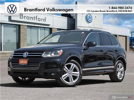 2014 Volkswagen Touareg 3.0 TDI Execline (Stk: AS21740A) in Brantford - Image 1 of 28