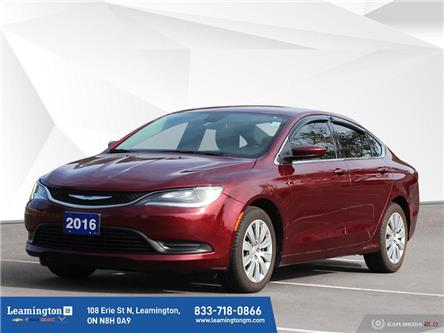 2016 Chrysler 200 LX (Stk: 21-011A) in Leamington - Image 1 of 30