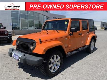 2013 Jeep Wrangler Unlimited Sahara (Stk: U04782A) in Chatham - Image 1 of 19