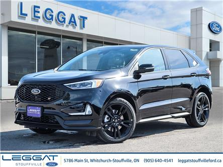 2021 Ford Edge ST (Stk: 21D1023) in Stouffville - Image 1 of 28