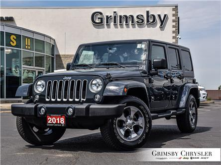 2018 Jeep Wrangler JK Unlimited Sahara (Stk: U5160) in Grimsby - Image 1 of 26