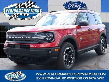 2021 Ford Bronco Sport Badlands (Stk: BR73733) in Windsor - Image 1 of 16
