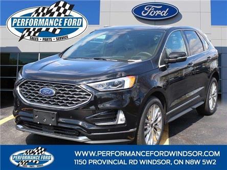 2021 Ford Edge Titanium (Stk: EG12107) in Windsor - Image 1 of 15