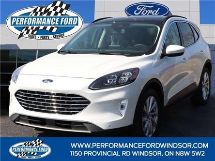 2021 Ford Escape Titanium Hybrid (Stk: ES01513) in Windsor - Image 1 of 15