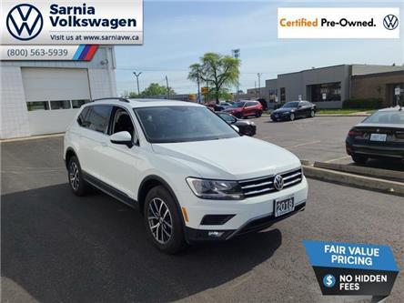 2018 Volkswagen Tiguan Comfortline (Stk: VU1131) in Sarnia - Image 1 of 23