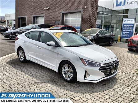 2019 Hyundai Elantra Preferred (Stk: H6590A) in Toronto - Image 1 of 30