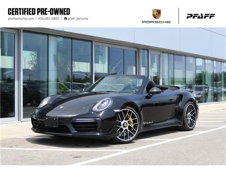 2017 Porsche 911 Turbo S Cabriolet PDK (Stk: U9541A) in Vaughan - Image 1 of 30