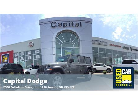2020 Jeep Wrangler Unlimited Sport (Stk: P3184) in Kanata - Image 1 of 22