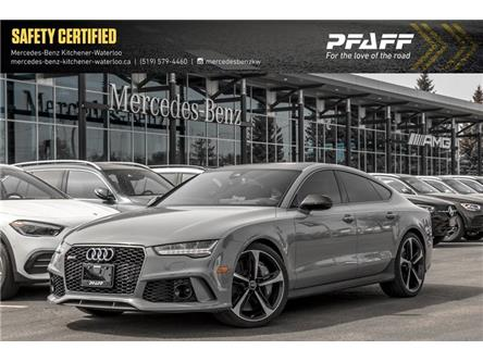 2017 Audi RS 7 4.0T performance (Stk: 40102A) in Kitchener - Image 1 of 28