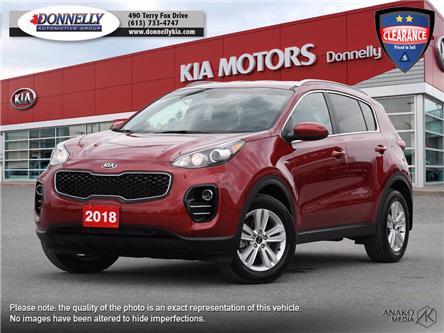 2018 Kia Sportage LX (Stk: KV390DTA) in Kanata - Image 1 of 28