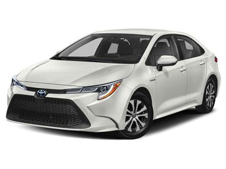 2021 Toyota Corolla Hybrid Base w/Li Battery (Stk: N39494) in ST. JOHN'S - Image 1 of 9