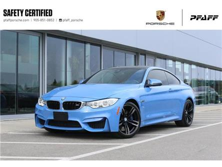 2015 BMW M4 Coupe (Stk: U8985A) in Vaughan - Image 1 of 30