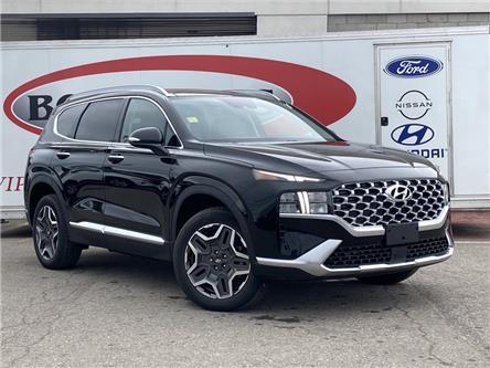 2021 Hyundai Santa Fe HEV Luxury (Stk: 21SF15) in Midland - Image 1 of 14