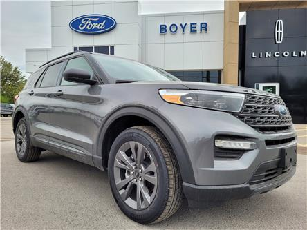 2021 Ford Explorer XLT (Stk: EX3216) in Bobcaygeon - Image 1 of 28