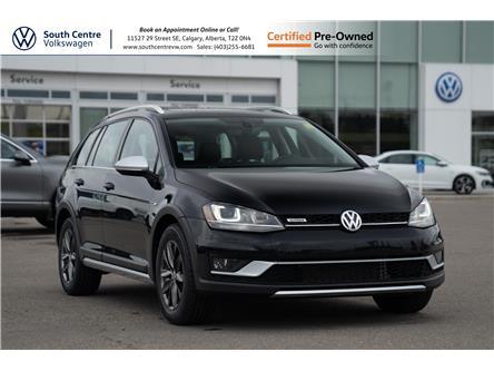 2017 Volkswagen Golf Alltrack 1.8 TSI (Stk: U6720) in Calgary - Image 1 of 41