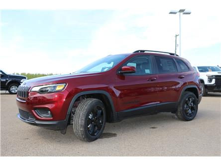 2021 Jeep Cherokee Altitude (Stk: MT038) in Rocky Mountain House - Image 1 of 30