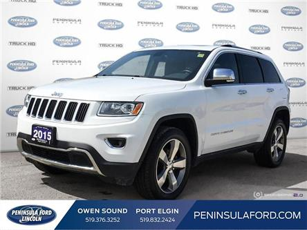 2015 Jeep Grand Cherokee Limited (Stk: 21FE61A) in Owen Sound - Image 1 of 25