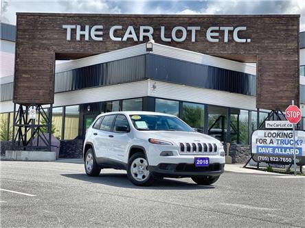 2018 Jeep Cherokee Sport (Stk: 21247) in Sudbury - Image 1 of 14