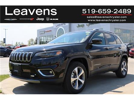 2021 Jeep Cherokee Limited (Stk: LC21230) in London - Image 1 of 25