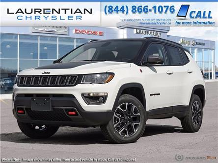 2021 Jeep Compass Trailhawk (Stk: 21038D) in Greater Sudbury - Image 1 of 23
