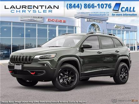 2021 Jeep Cherokee Trailhawk (Stk: 21007D) in Greater Sudbury - Image 1 of 23