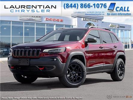 2021 Jeep Cherokee Trailhawk (Stk: 21253) in Greater Sudbury - Image 1 of 22