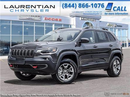 2021 Jeep Cherokee Trailhawk (Stk: 21270) in Greater Sudbury - Image 1 of 23