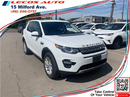 2018 Land Rover Discovery Sport HSE (Stk: 737850) in Toronto - Image 1 of 8