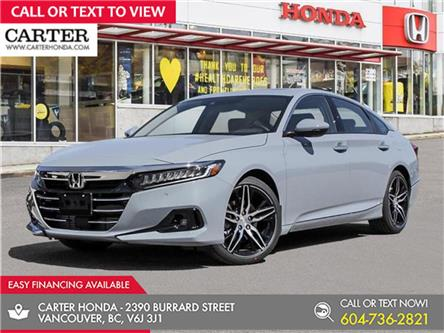 2021 Honda Accord Touring 1.5T (Stk: 6M13760) in Vancouver - Image 1 of 24