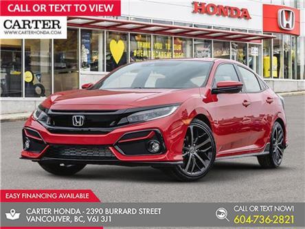 2021 Honda Civic Sport (Stk: 9M05260) in Vancouver - Image 1 of 24